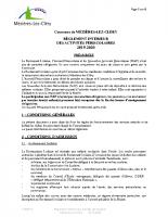 Règlement intérieur periscolaire 2019 – 2020